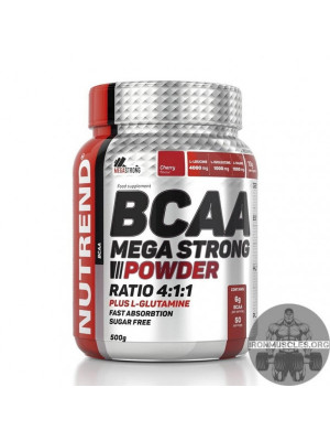 BCAA Mega Strong Powder (500 г)