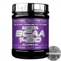 Mega BCAA 1400 (180 капсул)