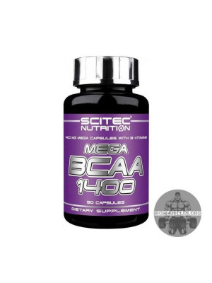 Mega BCAA 1400 (90 капсул)