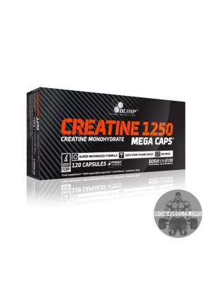 Creatine 1250 Mega Caps (120 капсул)