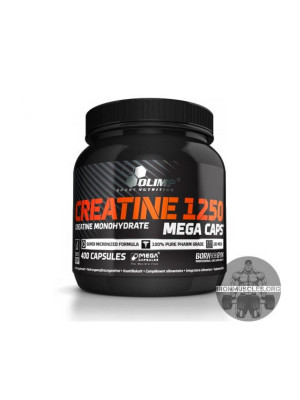 Creatine 1250 Mega Caps (400 капсул)