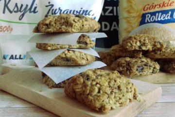 Вівсяне печиво з журавлиною