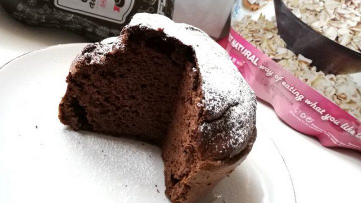Гарбузовий кекс з протеїном