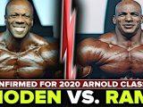 Шон Роден братиме участь в турнірі Arnold Classic USA 2020