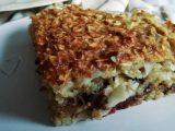Сирно-вівсяний пиріг