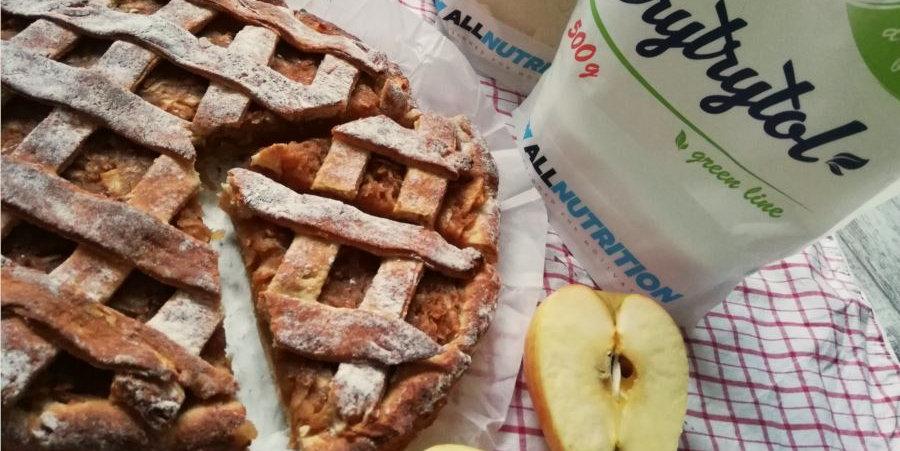 Дієтичний яблучний пиріг без цукру