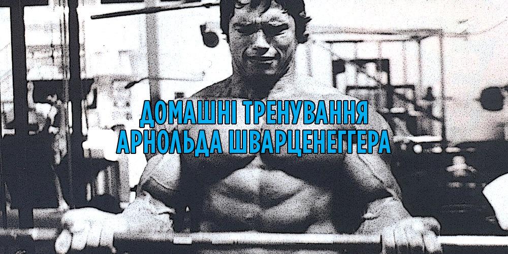 Домашні тренування Арнольда Шварценеггера
