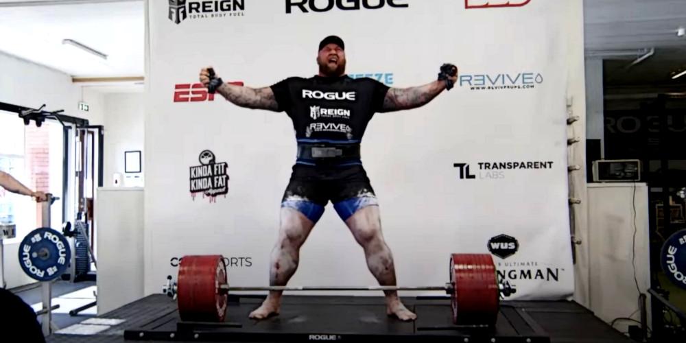Гафтор Бйорнссон встановив світовий рекорд у становій тязі