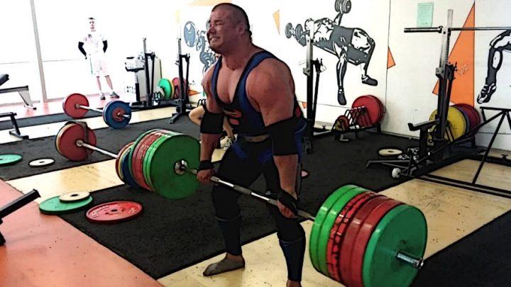 Рауно Гейнла встановив неофіційний світовий рекорд у становій тязі: 400 кілограмів на 6 повторень
