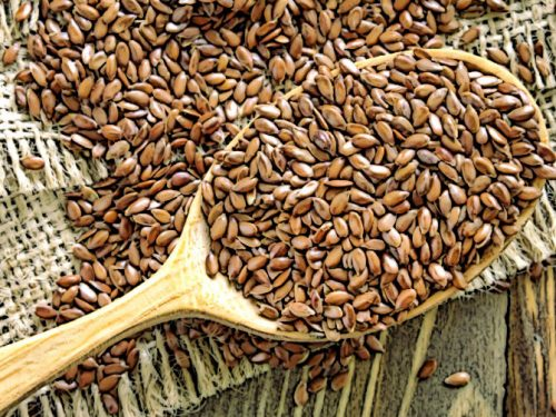 Насіння льону є джерелом лігнанів