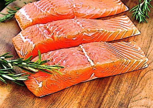 Лосось містить велику кількість омега-3 жирних кислот