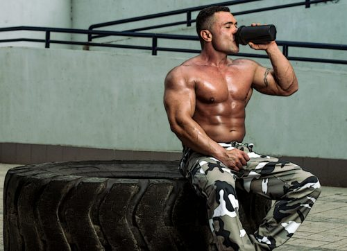 После тренировки необходимо употреблять быстрый протеин