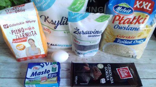 Овсяное печенье с клюквой: необходимые ингредиенты