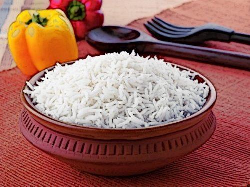 Рис є хорошим джерелом вуглеводів перед тренуванням