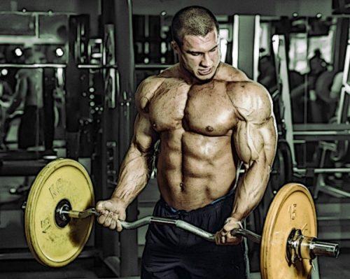 Спортсмены из второй группы продемонстрировали больший рост мышц рук