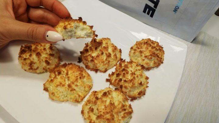 Низкоуглеводное кокосовое печенье