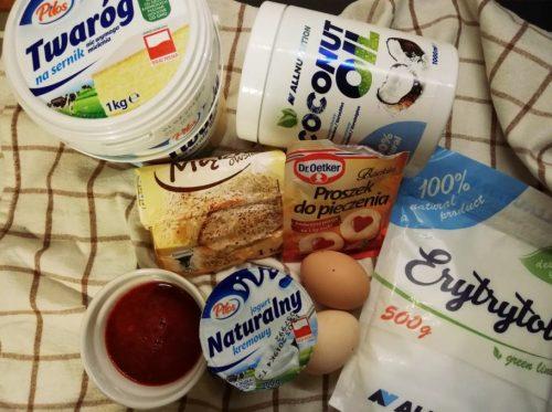 Диетический малиновый чизкейк без сахара: необходимые ингредиенты