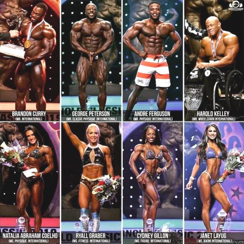 Переможці Arnold Classic USA 2019