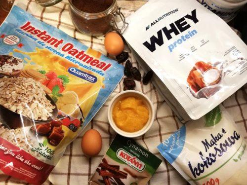 Тыквенный кекс с протеином: необходимые ингредиенты