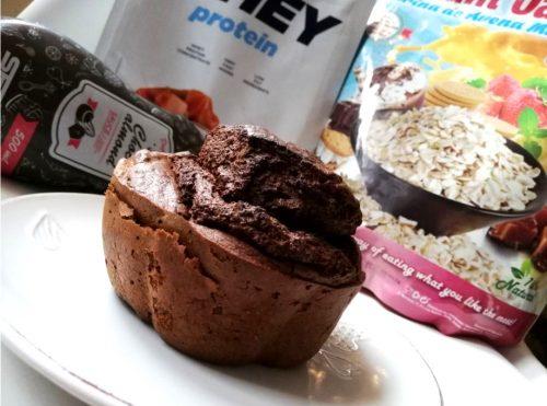 Тыквенный кекс с протеином: процесс приготовления