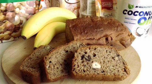 Банановый хлеб с орехами: готовое блюдо