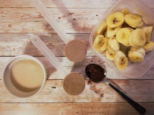 Диетический десерт с протеином а-ля Monte: процесс приготовления