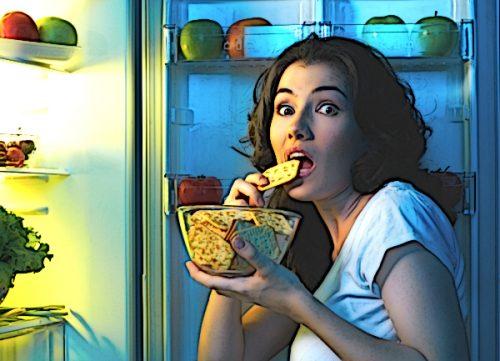 Ночные перекусы способствуют развитию диабета 2-го типа