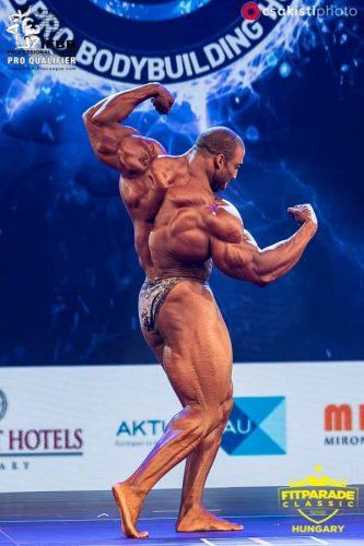 Седрик МакМиллан на IFBB Fitparade Hungary Pro 2019