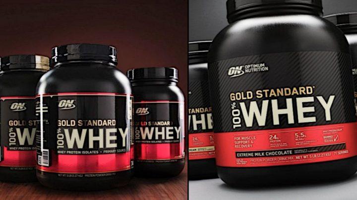 100% Whey Gold Standard получил новый дизайн