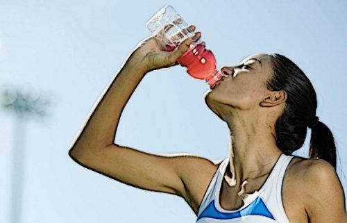 Потребление изотоника во время тренировки позволяет восполнить потери калия