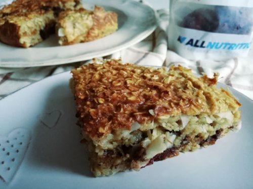 Творожно-овсяный пирог: готовое блюдо