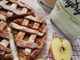 Диетический яблочный пирог без сахара