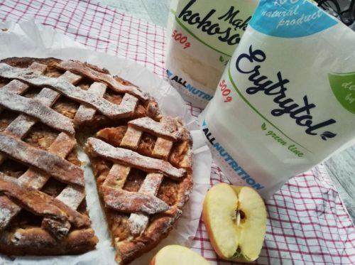 Дієтичний яблучний пиріг без цукру: готова страва