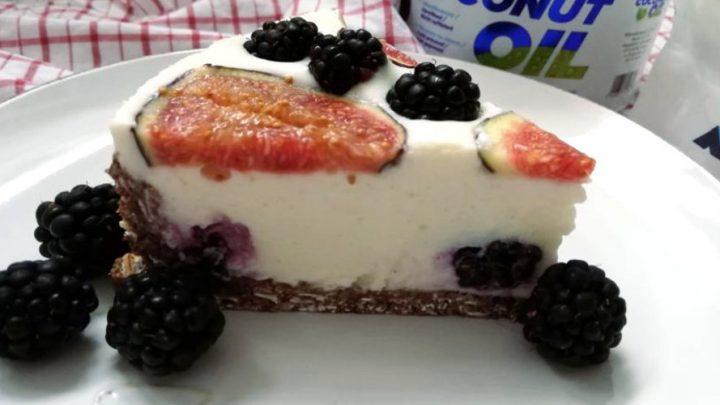 Творожный пирог без сахара