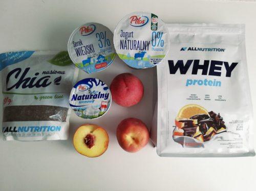 Дієтичний персиковий чізкейк: необхідні інгредієнти
