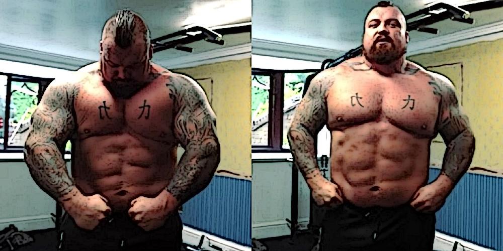 Эдди Холл похудел до 164 килограммов и похвастался физической формой