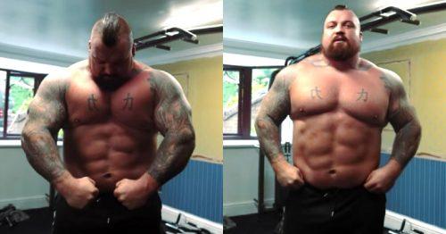 Поточна форма Едді Голла (вага 164 кілограми)