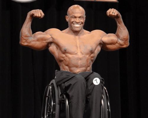 Гарольд Келлі, переможець в категорії бодібілдинг на інвалідних візках