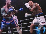 Хафтор Бьёрнссон побывал на полу ринга во время своего второго боксерского поединка